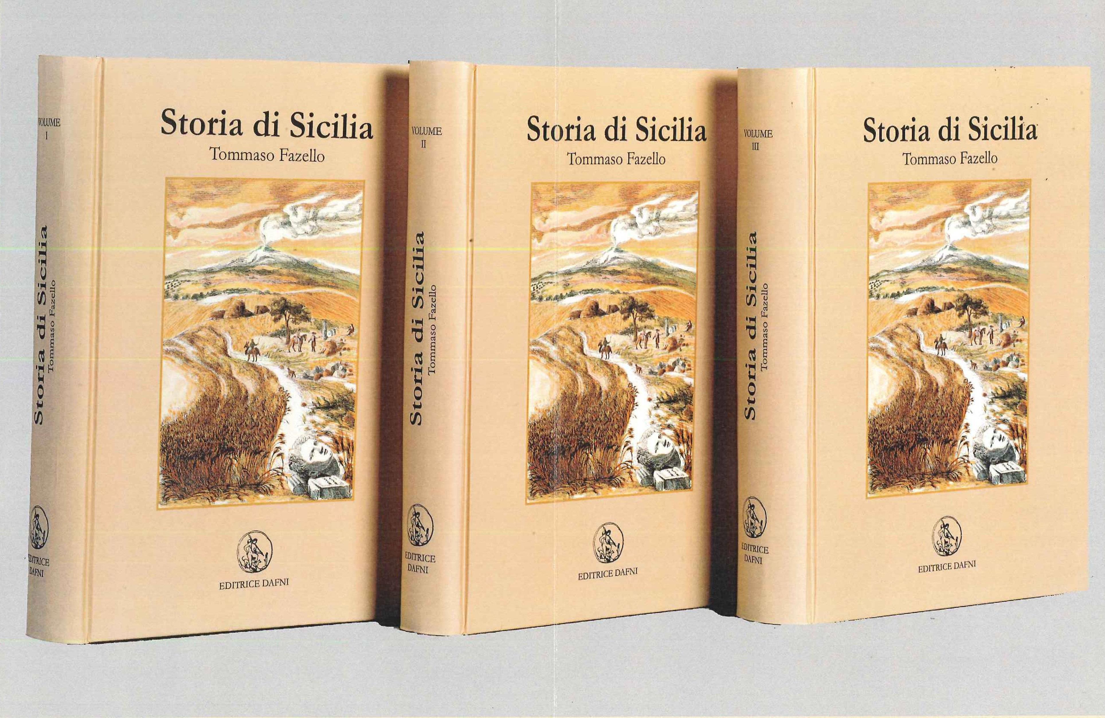 Storia di sicilia 3 voll libreria catania libri libri antichi