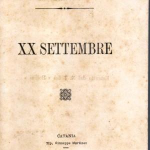 xx settembre