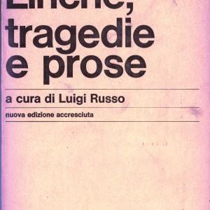 tragedie prose